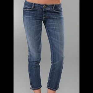 Current / Elliott Jeans The Cropped Zip Size 25